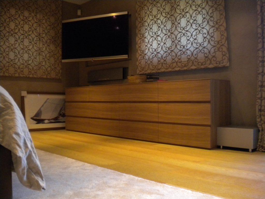 Meuble tiroir chambre moderne
