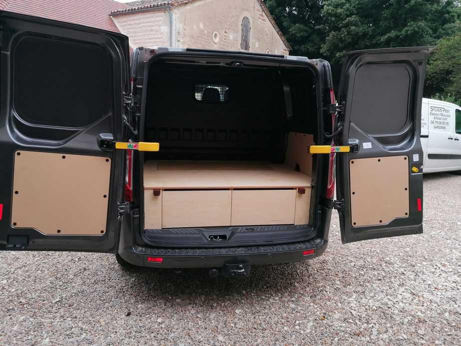 aménagement camionnette en dordogne - peny ebenisterie - bergerac