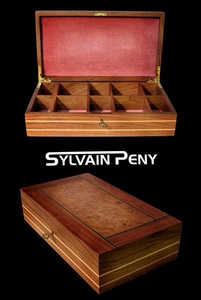 Conception d'une boîte à bijoux