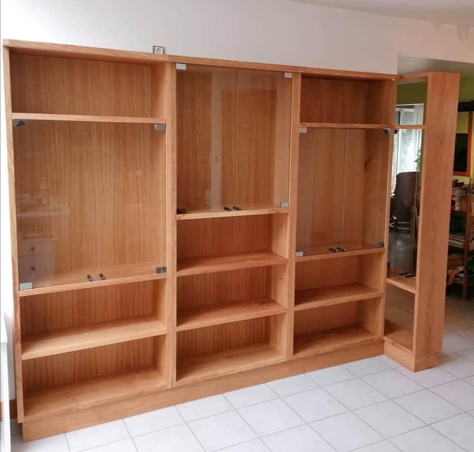 meuble créé par Sylvain Peny, ébéniste de confiance