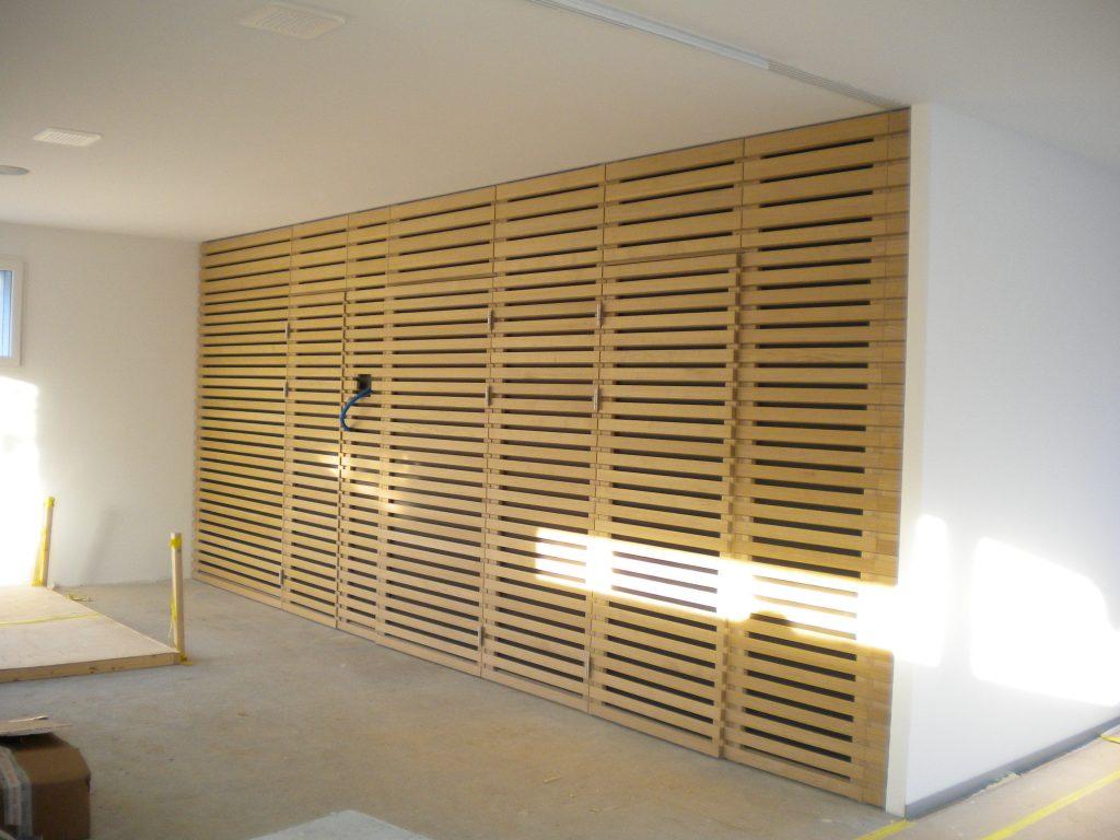Aménagement facade sauna