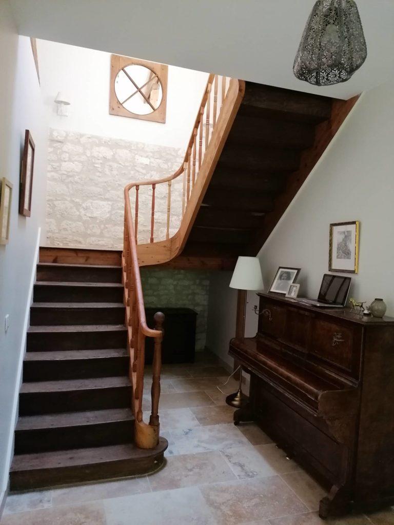 restauration escalier Bergerac