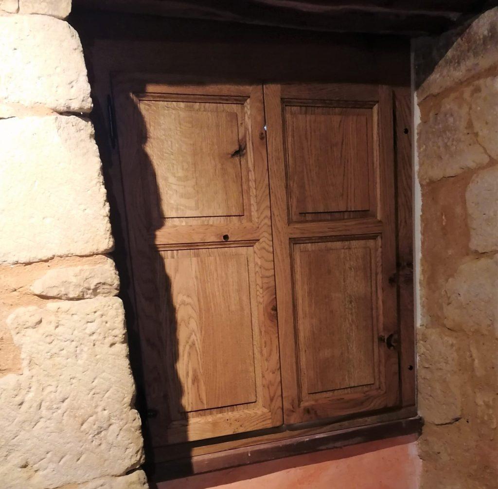 Volet de menuisier - Dordogne France
